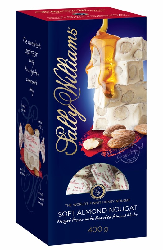 400g Almond Nougat Sharing Box