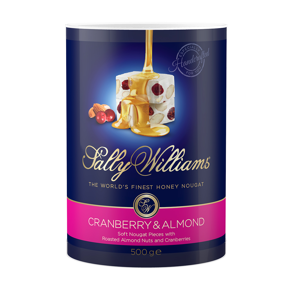 500g Tub Cranberry/Almond Nougat